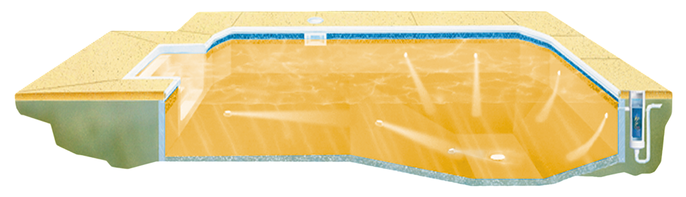 Vantage The Automatic Cleaning System For One Piece Pools